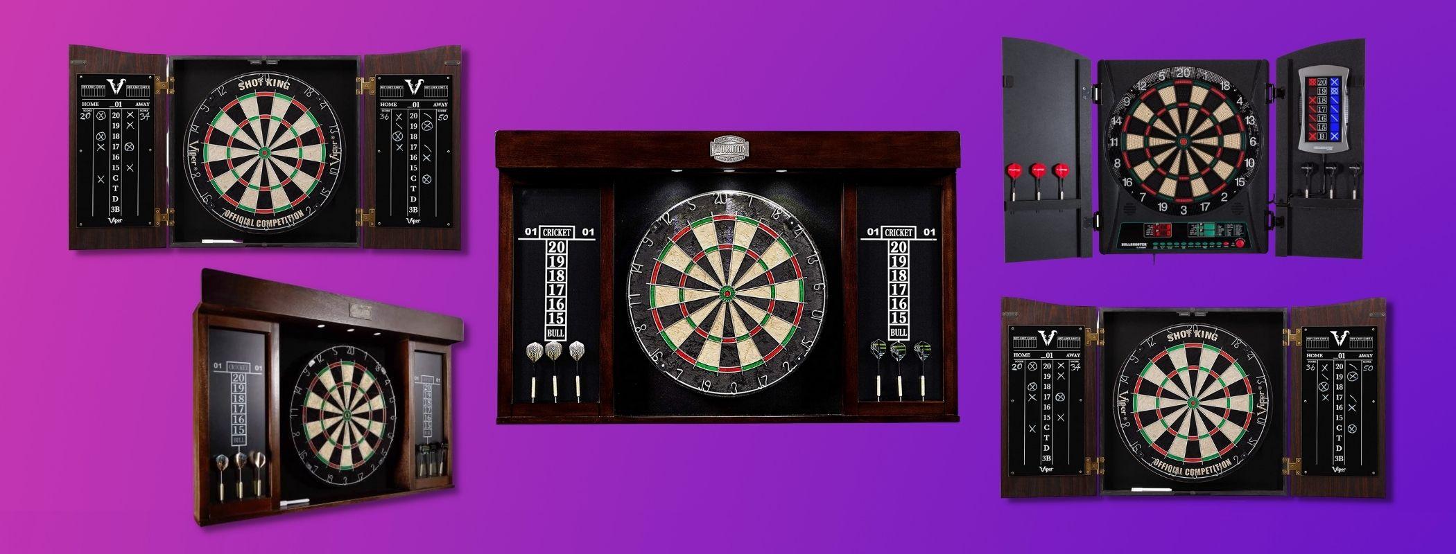 Top 13 Best Dart Board Cabinet Set In 2021