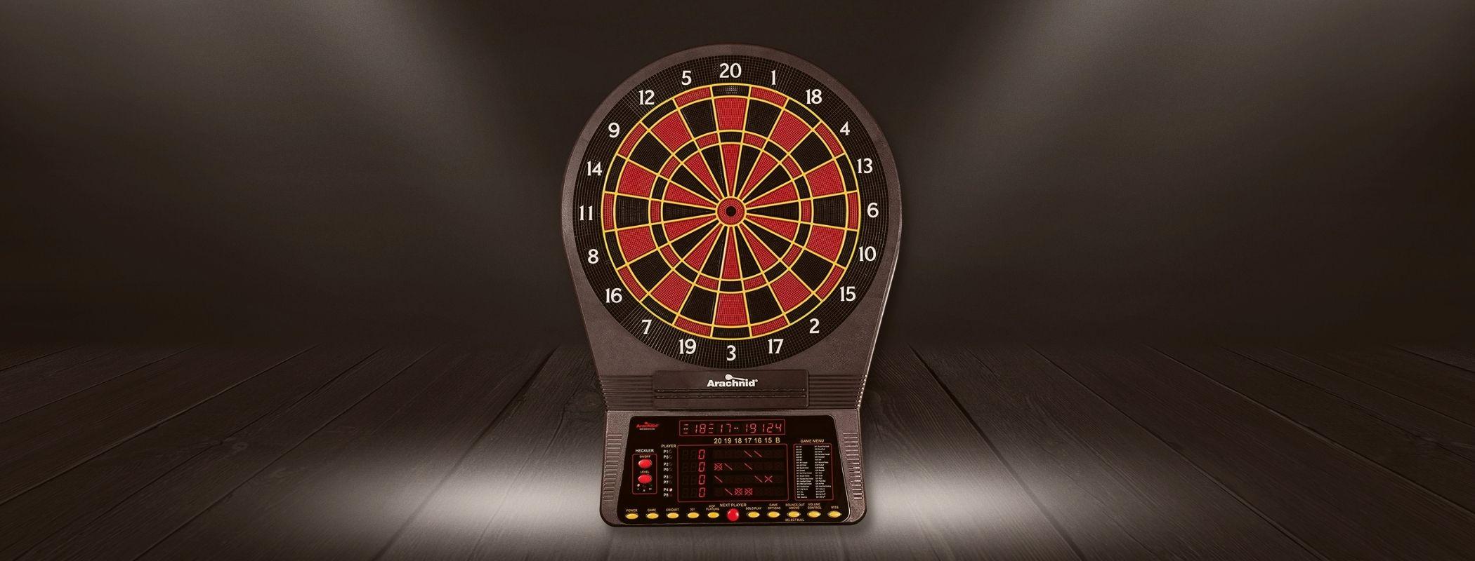 Arachnid Cricket Pro 800 Electronic Dartboard (1)