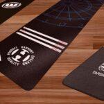 the best dart mats